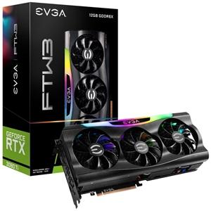 EVGA GeForce RTX3080 Ti FTW3 Gaming 12GB GDDR6X  Gráfica