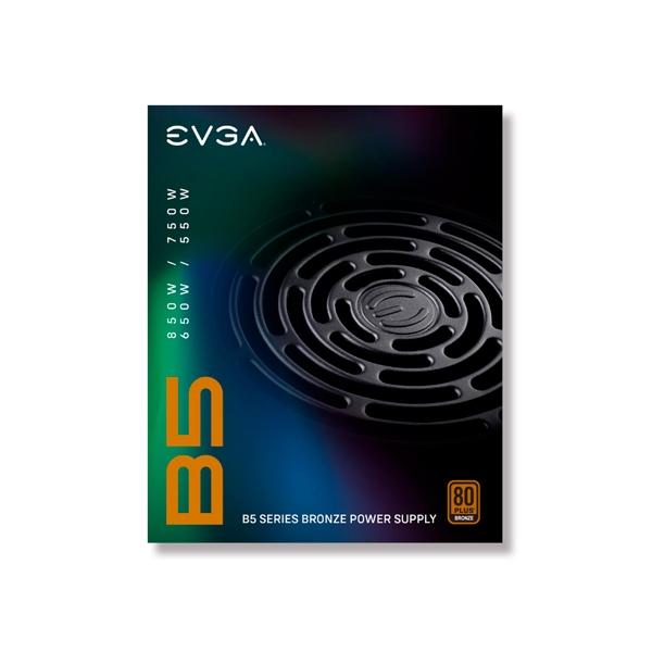 EVGA 750 B5 750W 80 Bronze Full Modular  FA