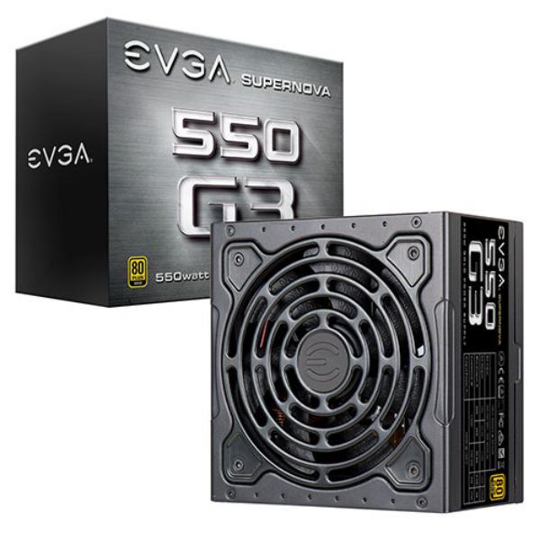 EVGA SuperNOVA G3 80Plus Gold Modular 550W - Fuente