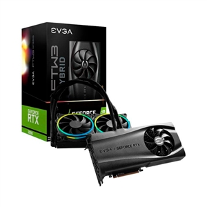 EVGA GeForce RTX3090 FTW3 Ultra Hybrid G 24GB GD6X Gráfica