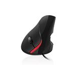 Mouse raton vertical ergonomico ewent ew3156 usb 20 1000dp