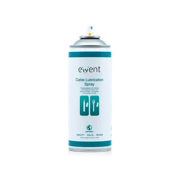 Ewent EW5618 Spray lubricacin de Cable 200ml  Herramientas