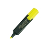 Faber Castell 15 mm Color Amarillo  Marcador Fluorescente