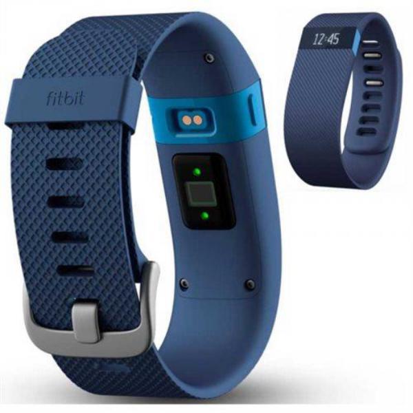FiTBit Charge HR Pequeña azul – Pulsera de actividad