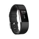 Fitbit Charge 2 Grande negro/plata - Pulsera de actividad