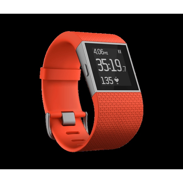 FiTBit Surge Pequeño naranja – Reloj Smartwatch