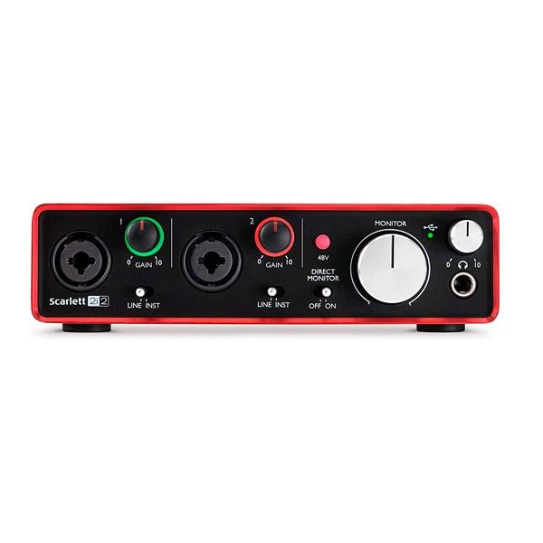 Focusrite 2i2 2nd Gen USB  Tarjeta de Sonido