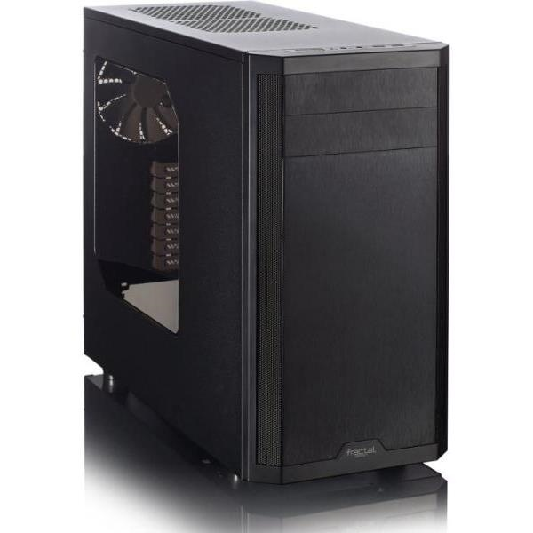 Fractal Design Core 3500 con ventana  Caja