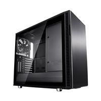 Fractal Define R6 ATX Blackout USB-C cristal templado - Caja