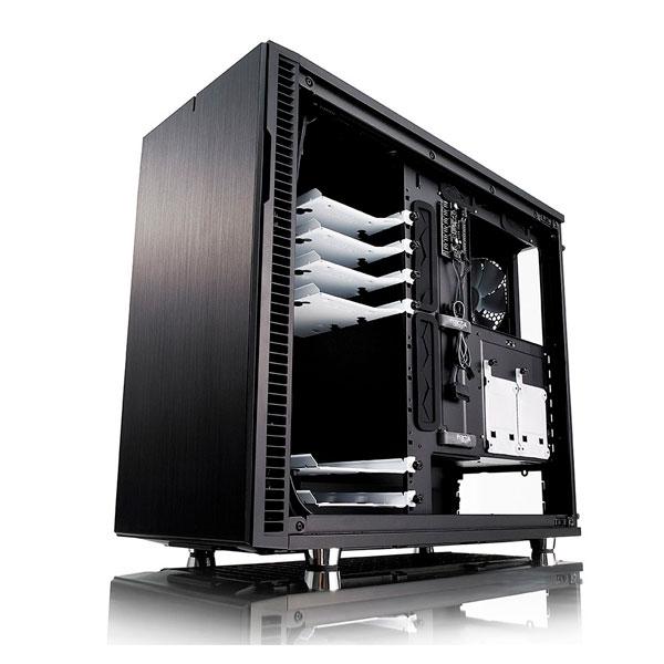 Fractal Define R6 ATX Blackout USBC cristal templado  Caja