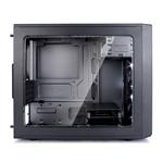 Fractal Focus mini G negra con ventana – Caja