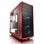 Fractal Focus G roja con ventana  Caja