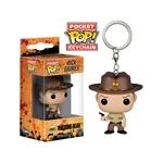 Llavero Pocket POP! The Walking Dead Rick Grimes