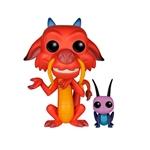 Figura POP Disney Mulan Mushu amp Cricket
