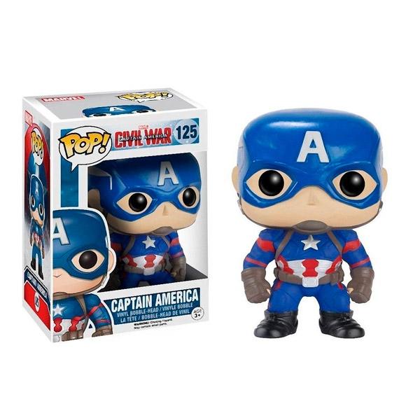 Figura POP Marvel Civil War Capitan America