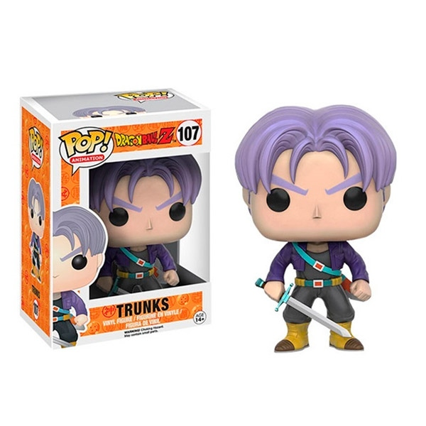 Figura POP Dragon Ball Z Trunks