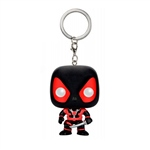 Llavero Pocket POP Black Deadpool Marvel