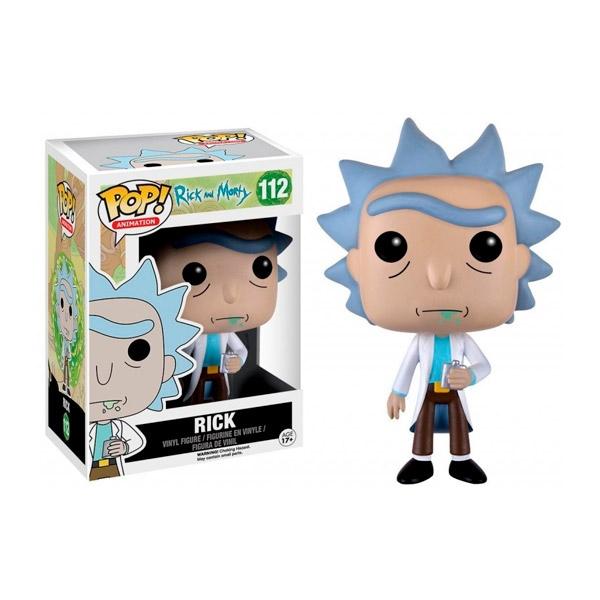 Funko POP Rick & Morty Rick con Petaca