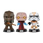 Figuras POP Star Wars Tarfful Unhooded Emperor Utapau Clone