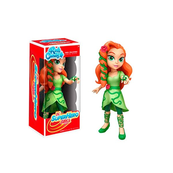Figura Rock Candy DC Super Hero Girls Poison Ivy