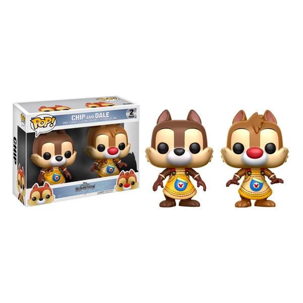 Set figuras POP Kingdom Hearts Chip and Dale