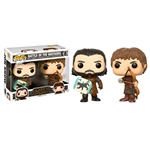 Figuras POP Game of Thrones Jon Snow & Ramsay Bolton Duel