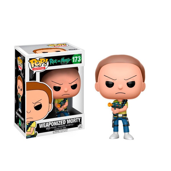 Figura POP Rick and Morty Weaponized Morty