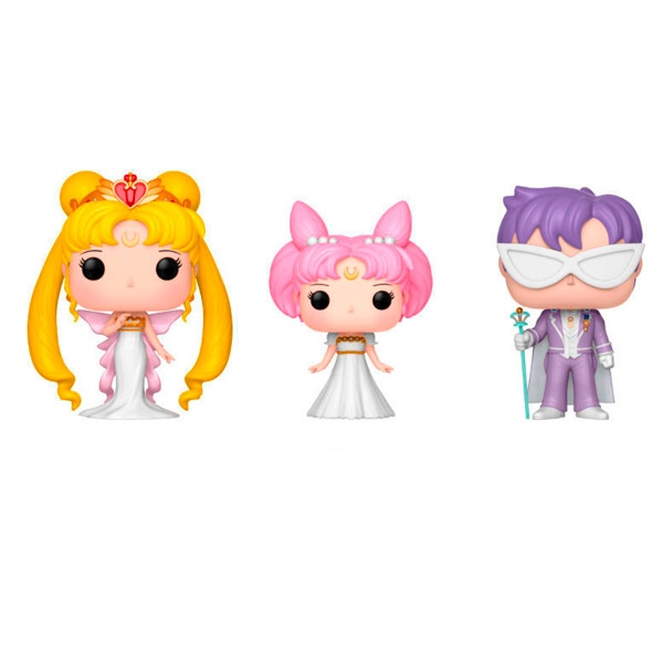 Figuras POP Sailor M.Queen Serenity Small Lady King Endymion