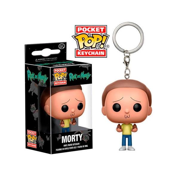 Llavero Pocket POP Rick y Morty Morty