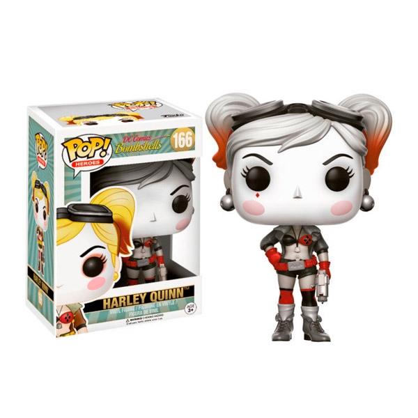 Figura POP DC Bombshells Harley Quinn Flashback