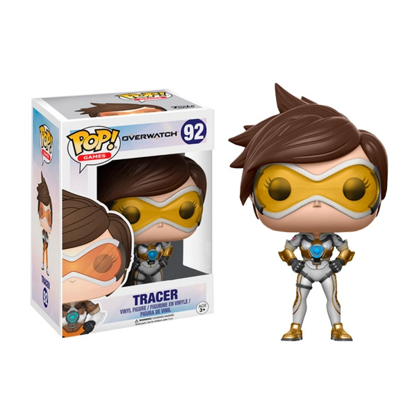 Figura POP Overwatch Tracer Posh Exclusive