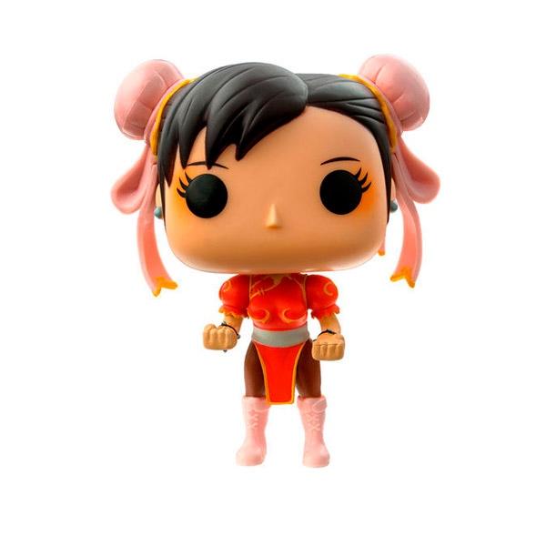 Figura POP Street Fighter ChunLi red Exclusive