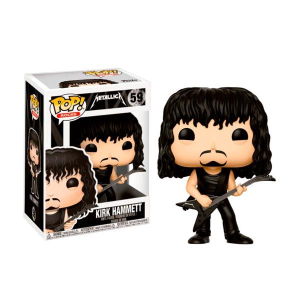 Figura POP Metallica Kirk Hammett