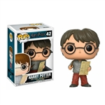 Figura POP Harry Potter Harry con mapa del merodeador