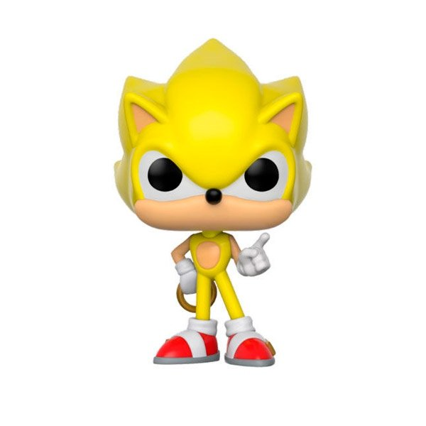 Figura POP Sonic Super Sonic Exclusive