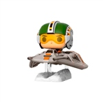 Figura POP Star Wars Snow Speeder with Wedge Antilles Excl