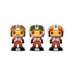 Figuras POP Star Wars Pilots Wedge Biggs amp Porkins Excl