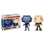 Set figuras POP Marvel Ultron vs Sigma