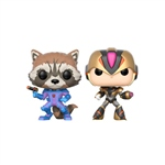 Figuras POP Capcom vs Marvel Rocket vs MegaMan X Exclusive