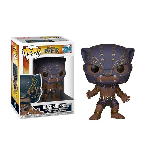 Figura POP Marvel Black Panther Warrior fall