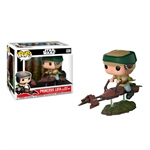 Figura POP Star Wars Leia on Speeder Bike Deluxe