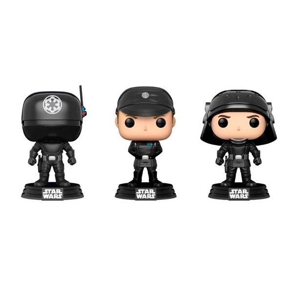 Set 3 figuras POP Star Wars Gunner Officer amp Trooper