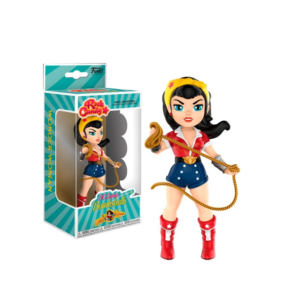 Figura Rock Candy DC Bombshells Wonder Woman