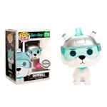 Figura POP Rick amp Morty Snowball Flocked Exclusive