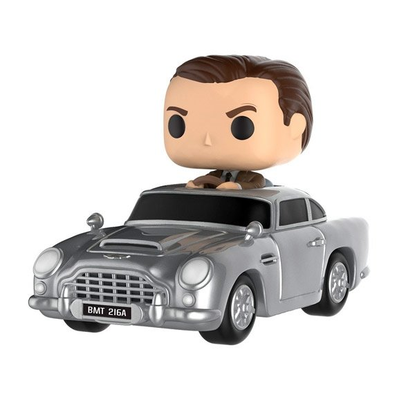 Figura POP James Bond Aston Martin & Sean Connery