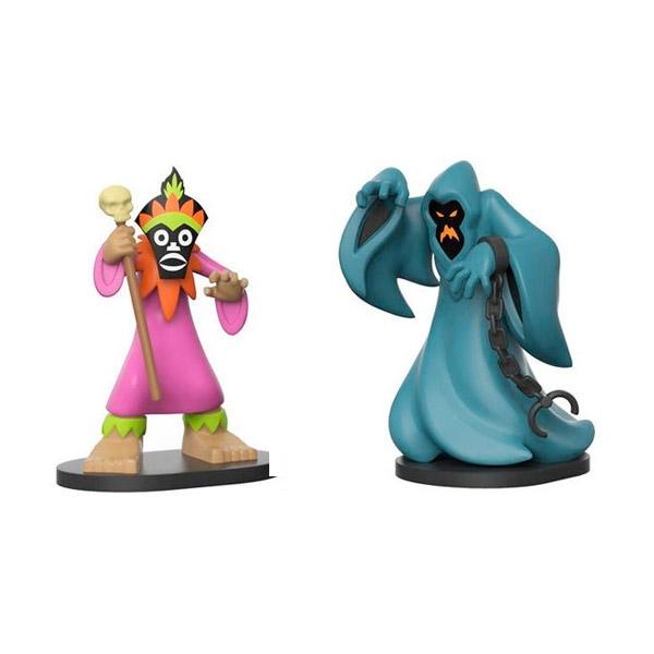 Set figuras Scooby Doo Hero World Witch Doctor amp Phantom