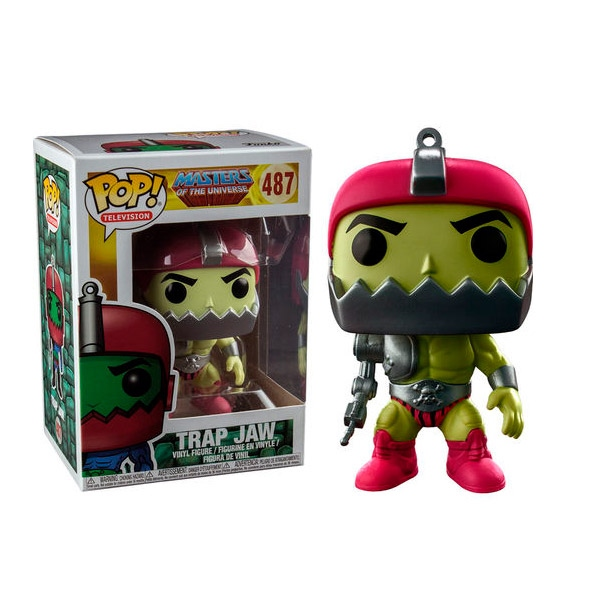 Figura POP Master Of The Universe Trap Jaw Metallic Excl.
