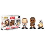 Set 3 figuras POP! Star Wars VIII The Last Jedi Good Guys