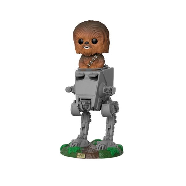 Figura POP Star Wars ATST with Chewbacca
