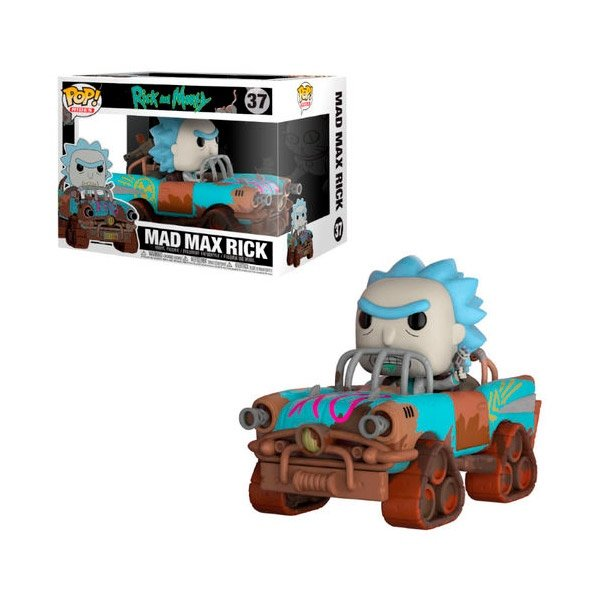 Figura POP Ride Rick amp Morty Mad Max Rick